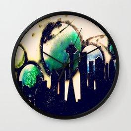 Seahawk Silhouette  Wall Clock