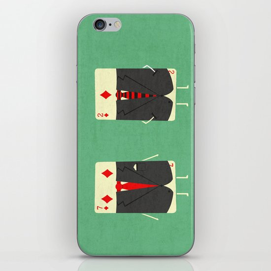 Suited Cards iPhone & iPod Skin