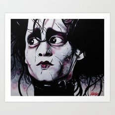 EDWARD Art Print