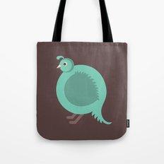 Letter Q // Animal Alphabet // Quail Tote Bag