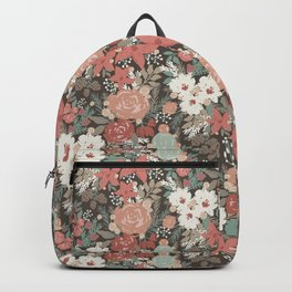 Holiday Glam Florals Backpack