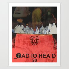 Radiohead 20 Art Print