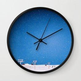 Gudauri Georgia Wall Clock