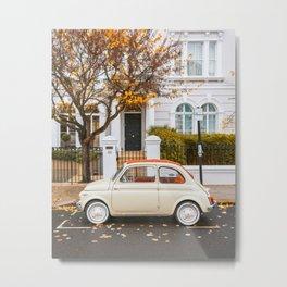 Autumn at Notting Hill Metal Print