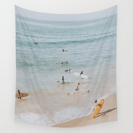 lets surf iii Wall Tapestry