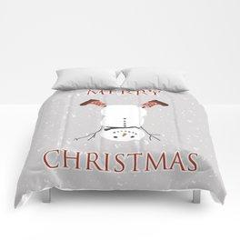 Snowman Yoga - Handstand Comforters