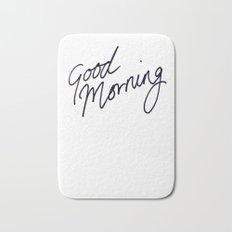 Good Morning! Bath Mat