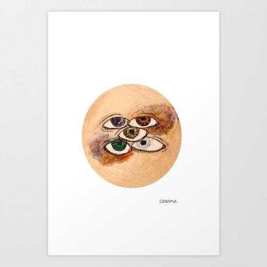 EyesScope Art Print