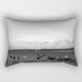The herd Rectangular Pillow