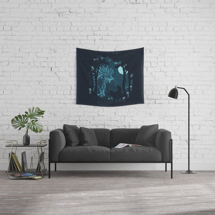 Forest Spirit Wall Tapestry
