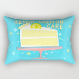 All American Classic Lemon Chiffon Cake Rectangular Pillow