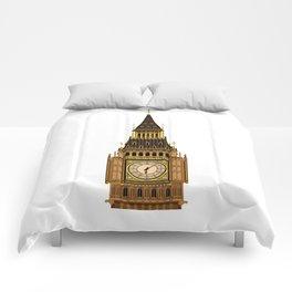 Big Ben Clock Face Comforters