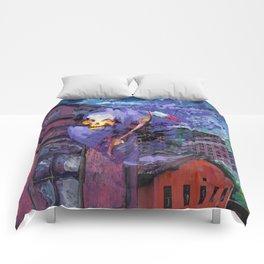 DEAD CITY Comforters