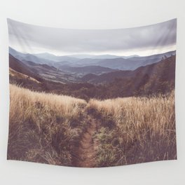 Bieszczady Mountains - Landscape and Nature Photography Wall Tapestry