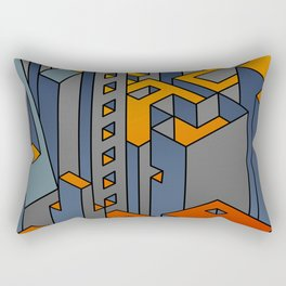 Welcome to the Machine #1 Rectangular Pillow