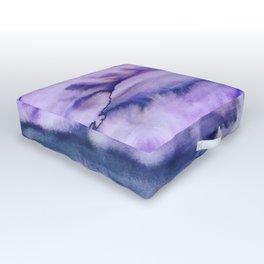 Power Purple Outdoor Floor Cushion