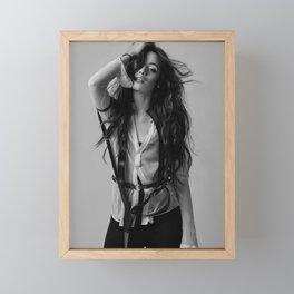 Camila Cabello 1 Framed Mini Art Print