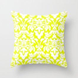 Lemon Fancy Throw Pillow
