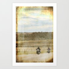Get your motor running... Art Print