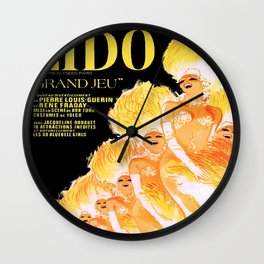 Vintage poster - Lido Wall Clock