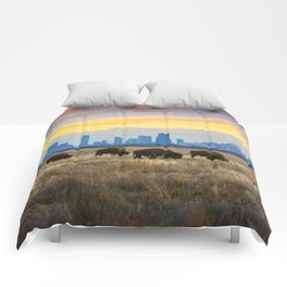 City Buffalo Comforters
