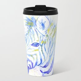 Quiet Zebra Metal Travel Mug