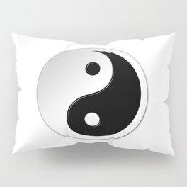 Yin Yang Symbol Pillow Sham