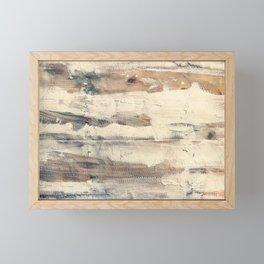 Wood shipboard repairing Framed Mini Art Print