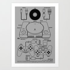 PSX Art Print