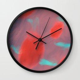 Floating Ember Wall Clock
