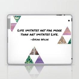 Life Imitates Art Laptop & iPad Skin