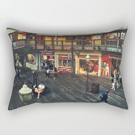 Fisherman's warf Rectangular Pillow