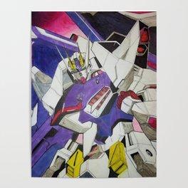 RX-93 Gundam Poster