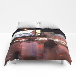Flushing, NY Night Life Comforters