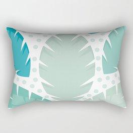 Tropic Leaves Background #society6 #decor #buyart #artprint Rectangular Pillow