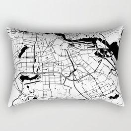 Amsterdam Minimal Map Rectangular Pillow