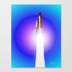 Space shuttle Alantis Canvas Print
