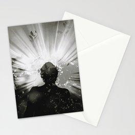 the mask of God Stationery Cards
