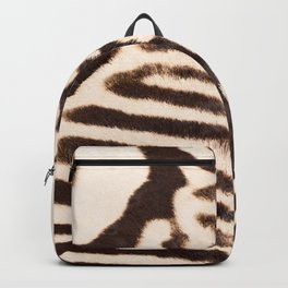 Zebra - stripes - classic #decor #society6 #buyart Backpack