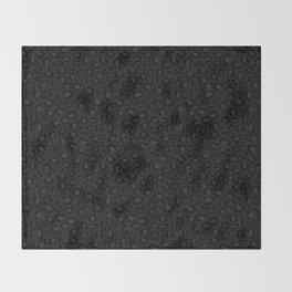 Leopard Print 2.0 - Black Panther Throw Blanket