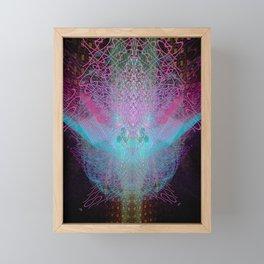 Scramble Light Entity Framed Mini Art Print