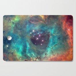 Colorful Nebula Galaxy Cutting Board
