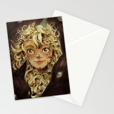 The Girl Raised by Foxes of the Northeast Stationery Cards