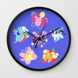 Elements of Harmony Wall Clock