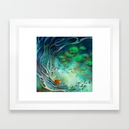 Life of Pi Framed Art Print