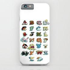 The Disney Alphabet - White Background iPhone 6s Slim Case