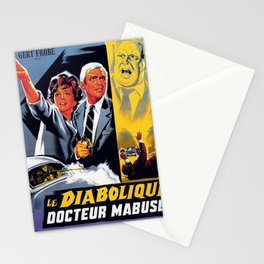 The Diabolical Doctor Mabuse Stationery Cards