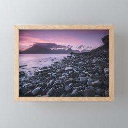 Sunset at Elgol Framed Mini Art Print