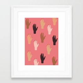 LADY FINGERS Framed Art Print