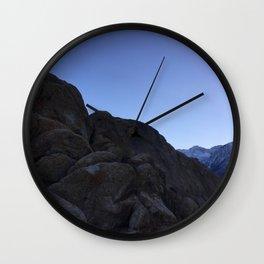 Alabama Hills II Wall Clock